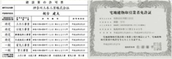 リフォーム業者国家免許